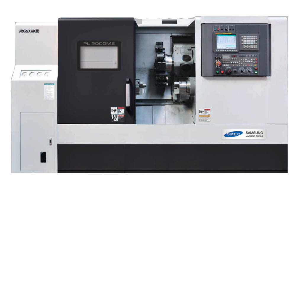 SAMSUNG PL 2000MS/2500MS CNC TURNING CENTER